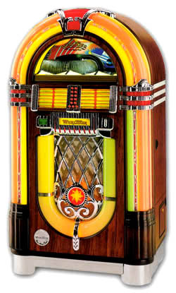 jukebox wurlitzer one more time 100 cd 39 s. Black Bedroom Furniture Sets. Home Design Ideas